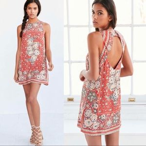 New with tag Ecote urban outfitter open back dress